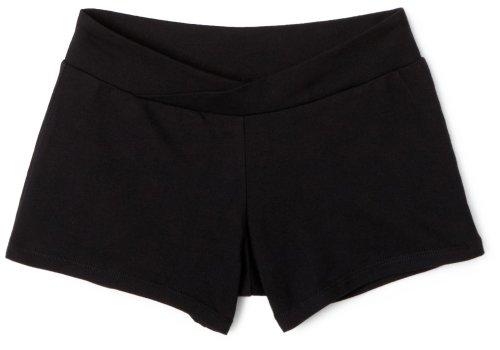 Capezio Women's V-Front Boy Short, Black, Medium