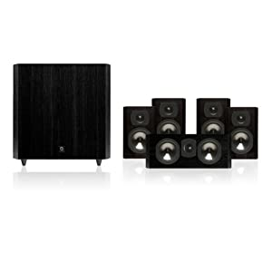 Boston Acoustics CS2310B Classic Series 5.1 Sub/Sat System (Black)