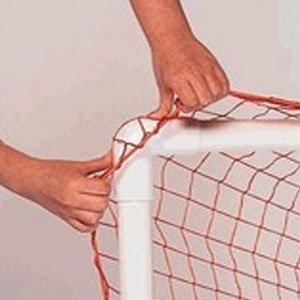 Park & Sun Lacrosse Bungee Slip Net (6 x 6 x 6-Feet, White)