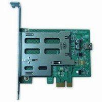 Industrial Grade PCI Express PCIe ExpressCard adapter/reader 2.5Gb/S : Supports 1394/FireWire/iLINK Gigabit Ethernet SATA II Serial Port TV Tuners USB Wireless LAN (802.11a/b/g, WiFi) WAN/Wireless Broadband Internet ExpressCards.