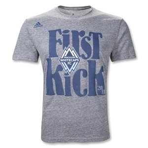 adidas Vancouver Whitecaps MLS 2011 First Kick T-Shirt
