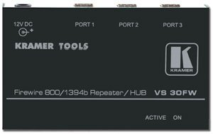 3 PORT FIREWIRE REPEATER HUB (800MBPS)
