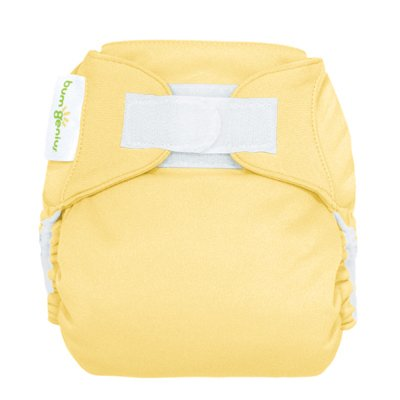 Freetime (Velcro) Aio Diaper With Stay Dry Liner - Butternut front-1044514