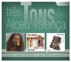 Alceu Valenca - Tres Tons de Alceu Valenca (3pcs) - Albuns