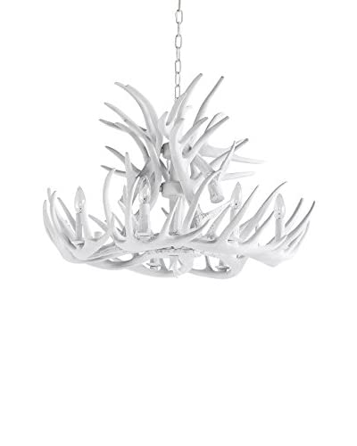 Mercana Rockhill 8-Light Chandelier, White As You See