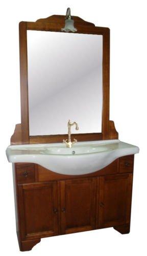 Piushopping - Mobile Bagno Design Classico arredo bagno in arte povera legno per lavabo