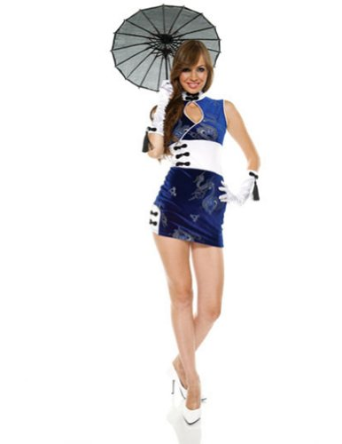 China Doll Lg Xlg Adult Womens Costume