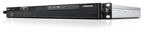 Lenovo ThinkServer RS140 19 Zoll Rack Server (Intel Xeon E3-1246, 3,5GHz, 4GB RAM, DVD-RW) silber/schwarz