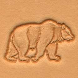 Tandy Leather Craftool 3d Bear Stamp 88304-00 New