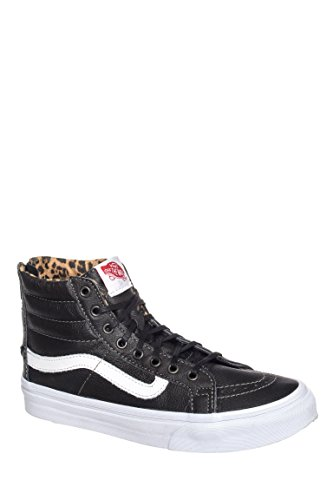 Sk8-Hi Leather Slim Zip High Top Sneaker