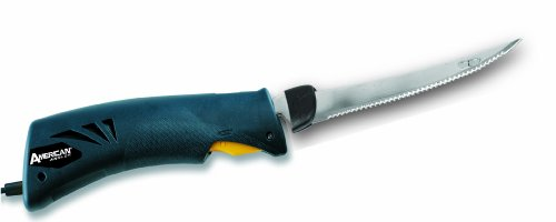 American Angler Classic EFK Knife with 8-Inch Blade, Blue