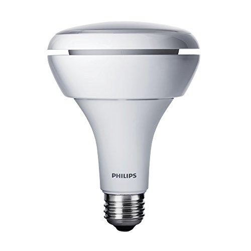 Philips 431932 Dimmable 12-Watt Br40 Led Flood Light Bulb, Soft White