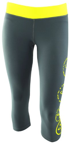 Zumba Fitness Women's Vibe Legging, Wetsuit, Large