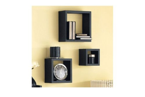 etagere murale cube pas chere. Black Bedroom Furniture Sets. Home Design Ideas