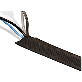 techflex dura race 3 inch wide carpeting cable cover 25 foot black. Black Bedroom Furniture Sets. Home Design Ideas