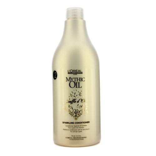 ロレアル Mythic Oil Souffle d'Or Sparkling Conditioner 750ml 25.4oz並行輸入品