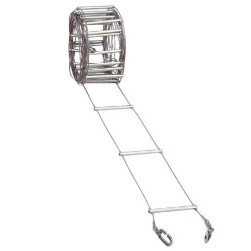 Faders-Escalier-troite-Mtallique-5-M-125-Cm-Echelle
