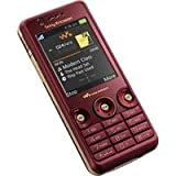 Sony Ericsson W660i Rose Red UMTS Handy