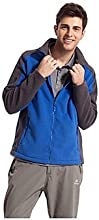 Outdoors Men39s Polyester Blue Army Green and Dark Blue Colors Windproof Outdoor Jackets - Army Gree