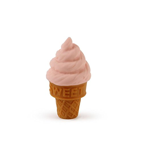 Ice Cream Cone Japanese Eraser - Pink (Ice Cream Cone Erasers compare prices)