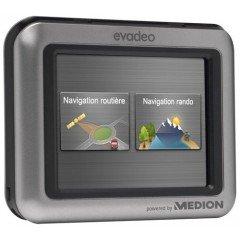 "Medion Evadeo M3320 GPS France Ecran 3,5"" Bluetooth"