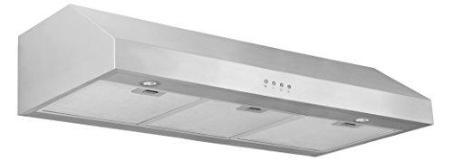 Ancona Advanta Pro III 450 CFM Under Cabinet Range Hood, 36-Inch (36 Oven Hood compare prices)