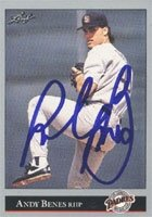 Andy Benes San Diego Padres 1992 Leaf Autographed Hand Signed Trading Card. by Hall+of+Fame+Memorabilia
