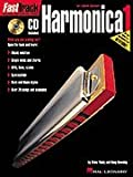 FastTrack Harmonica Method - Book 1 - for Diatonic Harmonica - BK+CD