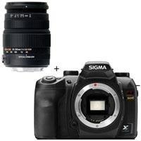 Sigma SD-15 Digital SLR Camera Body, with 50-200mm f/4-5.6 DC OS HSM Compact Telephoto Zoom Lens for Sigma AF Digital SLR Cameras - USA Warranty