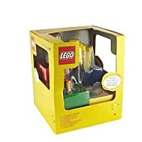Lego Desk Art Carousel with Colored Pencils, Markers, Erasers
