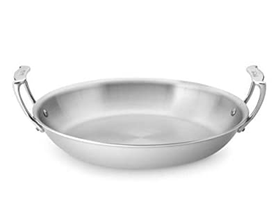 All-Clad 8701005072 Stainless Steel Dishwasher Safe Round Roaster/Cookware,