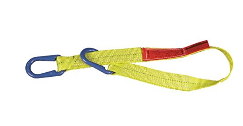 Liftall UU2804DX15 Polyester Web Sling, Type UU, 2-ply, 4 x 15' liftall ee2601dtx5 polyester web sling 2 ply eye and eye twisted eye 1 width x 5 length