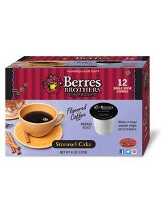 Berres Brothers Streusel Cake Coffee Single Serve Kups