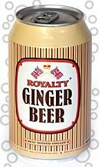 Royalty Ginger Beer 11oz (Case of 24 Cans)