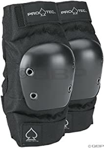 Protec Black Street Elbow Pad (Large)
