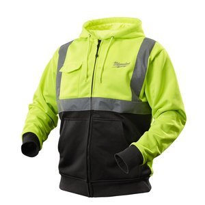 Milwaukee 2377-M M12 Medium Cordless High Visibility Heated Jacket Kit with Battery and Charger (Milwaukee Cordless Heated Jacket compare prices)