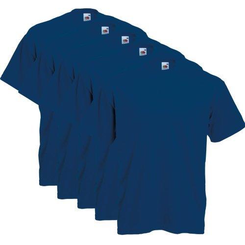 fruit-of-the-loom-5er-pack-t-shirts-navy-grosse-xxxl