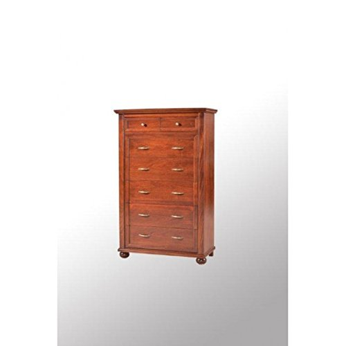 Large Chest of 5+ 2DRAWERS WOOD-Walnut-codluis 1112