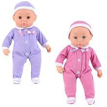 You and Me Sleepytime Twins--Purple and Pink by Geoffrey, Toys
