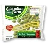 Cascadian Farm Organic Shelled Edamame, 10 Ounce -- 12 per case.