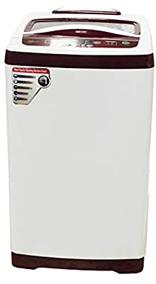 Videocon VT62G13 Digi Pearl Dlx Fully-automatic Top-loading Washing Machine (6.2 Kg, Glossy White)