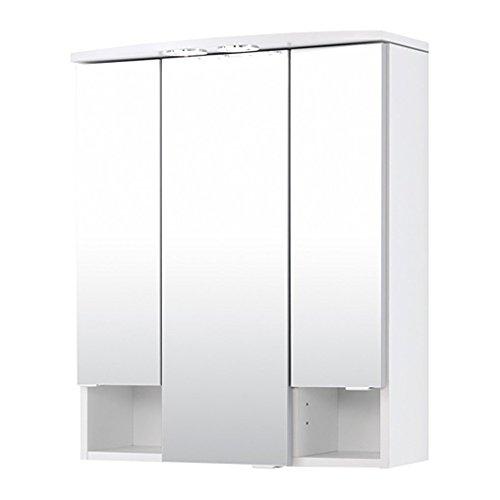 held m bel neapel spiegelschrank 3 t rig 4. Black Bedroom Furniture Sets. Home Design Ideas