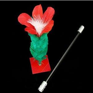 M is magic Magic Tricks wand to flower