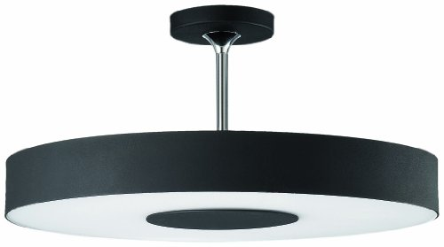 Philips 30206/30/48 Roomstylers Semi-Flushmount Ceiling Light, Black