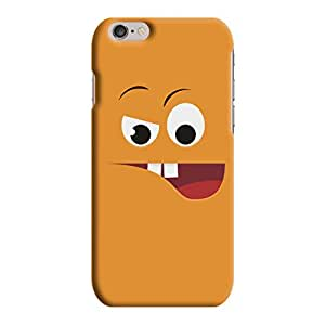 Kawach Case/Back Cover for Apple iPhone 6/6S + Free OK Mobile Stand - Naughty Face Printed Case