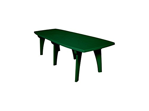 Tavoli in polipropilene TAVOLO LIPARI 2 250X90X72H VERDE