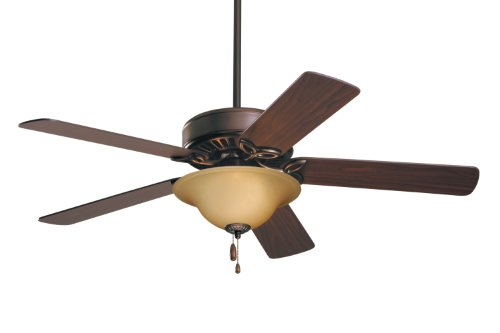 Emerson Ceiling Fans CF712ORB Pro Series Ceiling Fans, Indoor Ceiling Fan with Light, 50-Inch Emerson Fans Blades, Bronze Ceiling Fan with Oil Rubbed Bronze Finish (Hunter 50 Inch Ceiling Fan compare prices)
