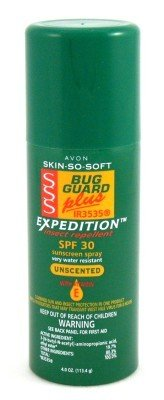 Avon Skin So Soft Bug Guard + Expedition Unscented 120 ml Spray (Case of 6)