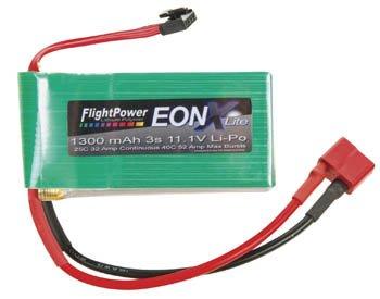 EONXLITE-13003S EONX Lite LiPo 3S 11.1V 1300mAh 25C