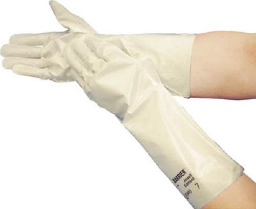 アンセル 耐溶剤作業手袋 バリア サイズS